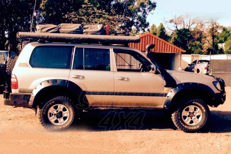 Aletines de Rueda Plastico ABS Toyota Land Cruiser 100 series - +95 mm por rueda