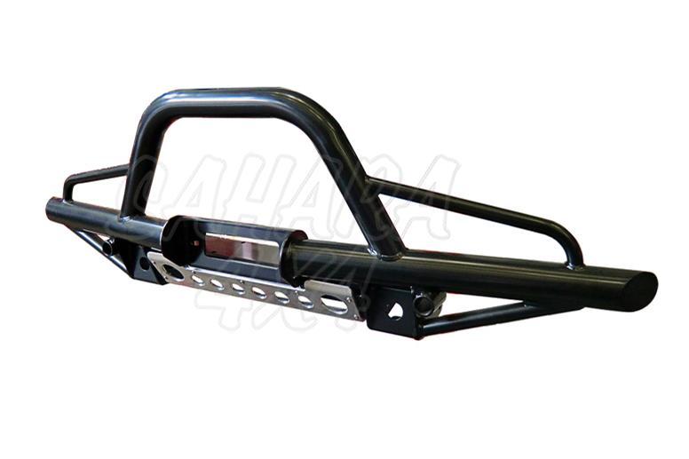 Paragolpes Delantero Tubular con defensa y soporte winch Land Rover defender  - Con soporte de winch