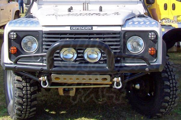 Paragolpes Delantero Tubular HD con defensa Land Rover Defender  - Sin soporte de winch