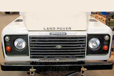 Paragolpes Delantero HD Land Rover defender  - 5 mm , ganchos no incluidos