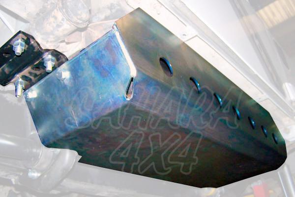 Protector de deposito lateral para Defender 90 en acero - Valido Defender 90