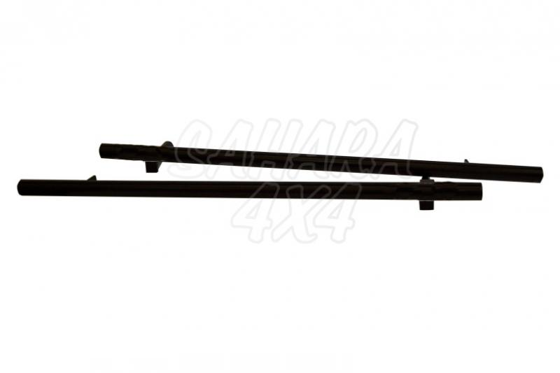 Estriberas laterales rock slider tubulares para Defender 90 - Valido Defender 90