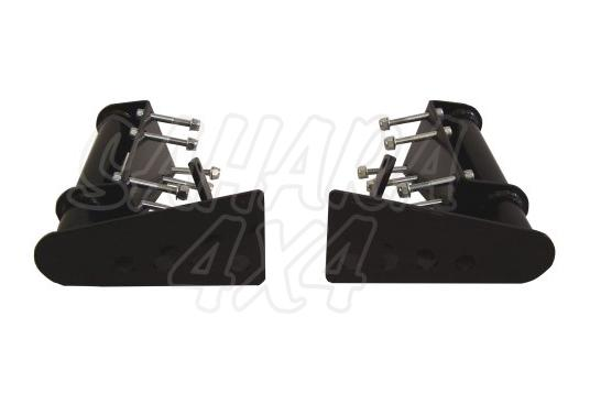 Paragolpes Trasero Type A Defender 90/110 - Kit de 2 unidades
