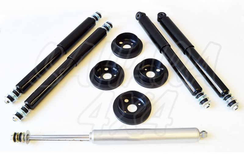 Kit de suspensión +2.5cm HD para Land Rover