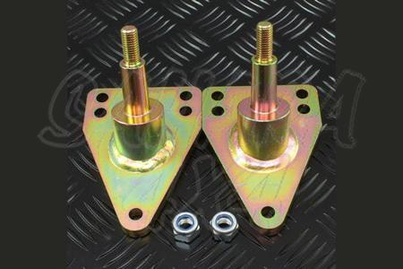 Kit de soportes para bajar Amortiguadores traseros HD - Pareja de soportes mas bajos