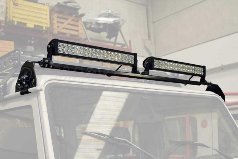 Soporte para Barra de LED Land Rover Discovery I &II - Valido para Discovery I & II