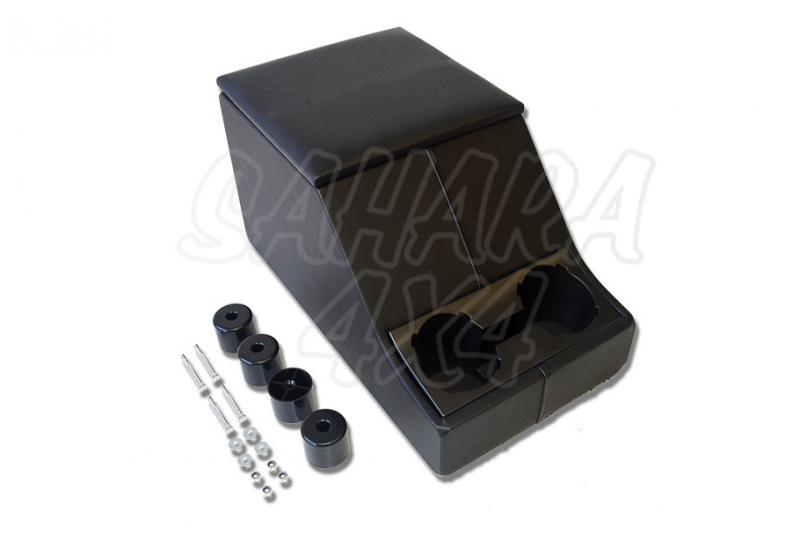 Cubby box consola central