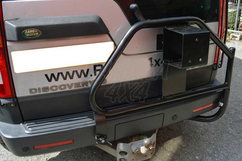Porta rueda trasera Land Rover Discovery III - Fabricado en acero