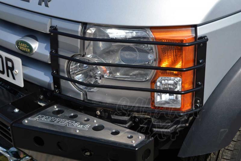 Protectores de faros delanteros Land Rover Discovery III - Pareja , fabricado en acero