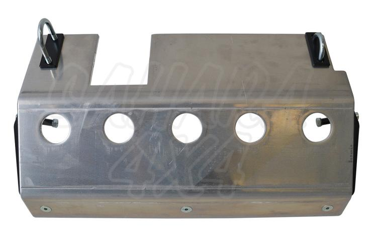 Protector de barras de direccion 8mm  Suzuki Samurai - Fabricado en aluminio