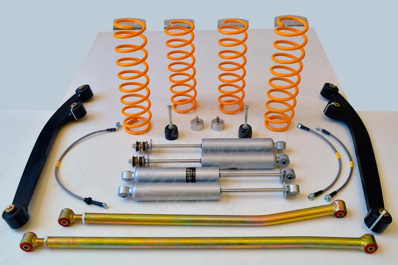 Kit Suspension +5/6 cm Completo Trial para Suzuki Jimny (2018-)