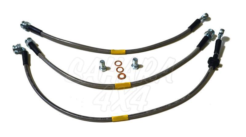 Kit latiguillos de freno +10 cm Suzuki Jimny -