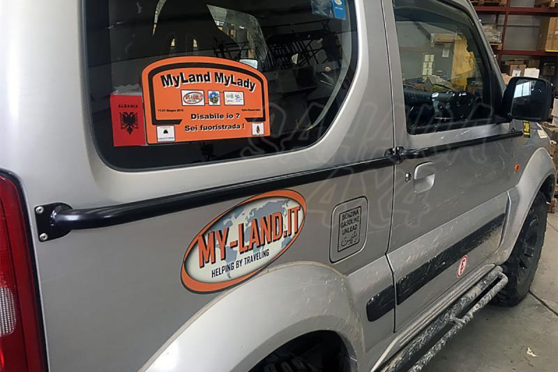Protector lateral de puerta y carroceria para Suzuki Jimny - Protege tu vehículo de golpes laterales.