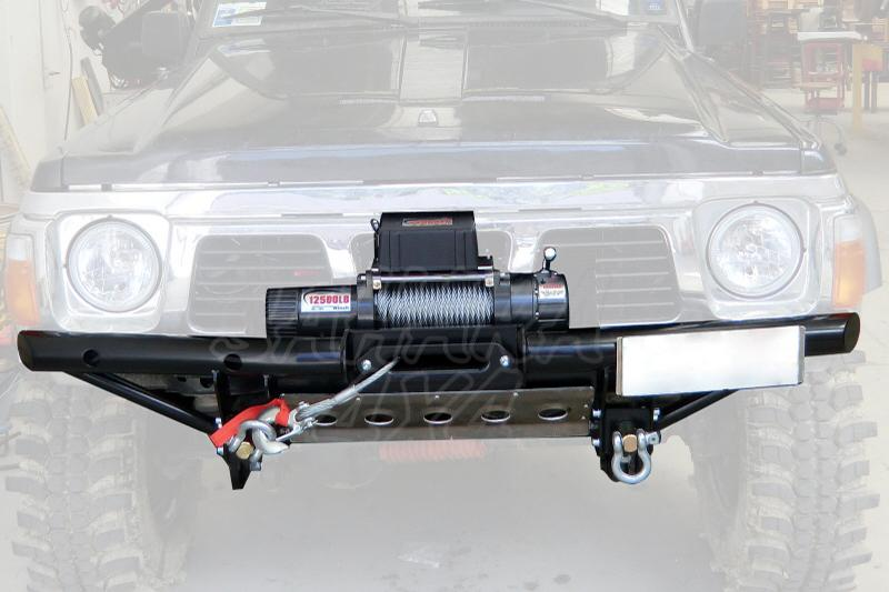Paragolpes delantero Tubular Nissan Patrol GR Y60 - Selecciona el tipo de paragolpes
