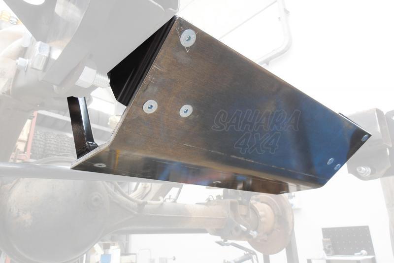 Protector frontal duraluminio 10 mm Nissan Patrol GR Y60 -