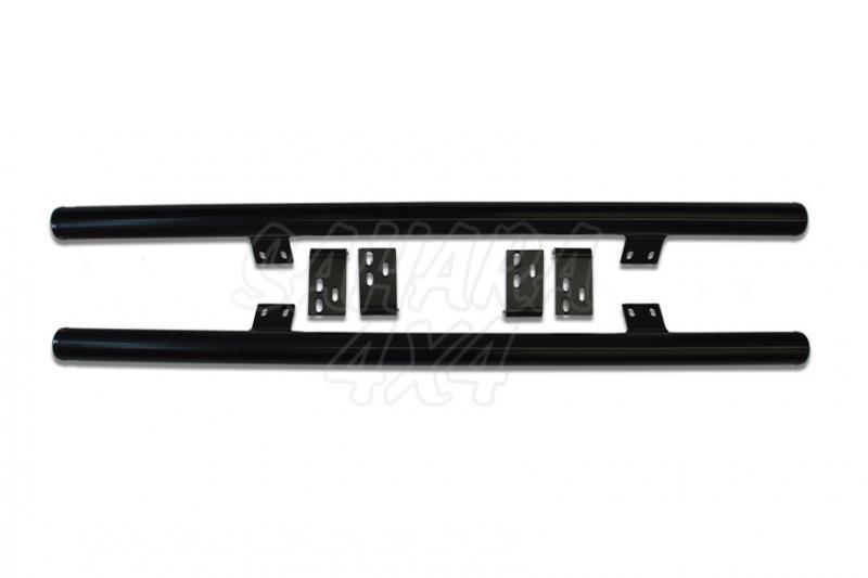 Tubular HD Rock Sliders Nissan Patrol GRY61 3 Puertas - Tubo de 60 mm x 3 mm