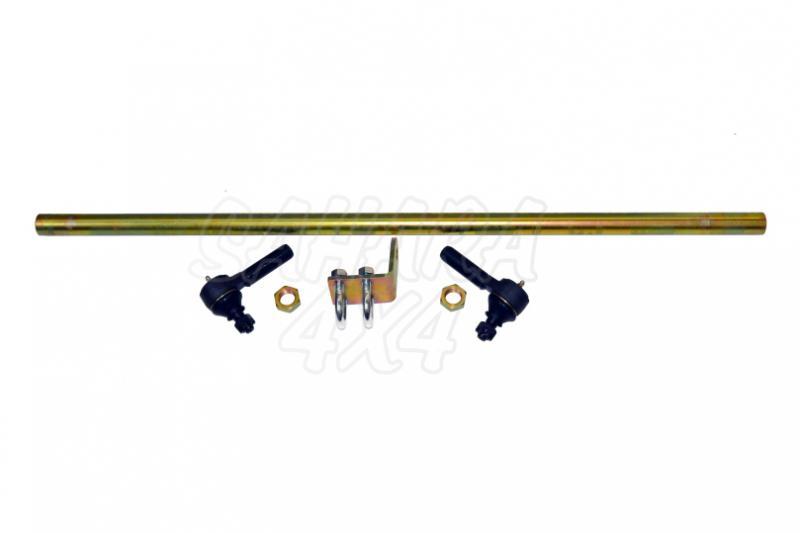 Barra direccion Reforzada HD Delantera , Nissan Patrol GR - Con rotulas y soporte de amortiguador