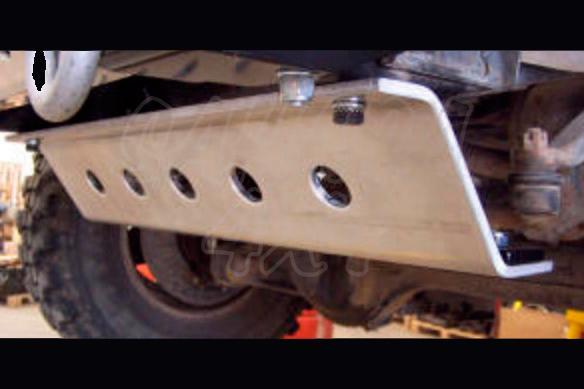 Protector frontal Toyota LJ/KZJ 70 - Fabricado en aluminio 8 mm
