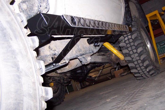 Taloneras laterales  Toyota LJ/KZJ 70 - Fabricado en acero 80x50