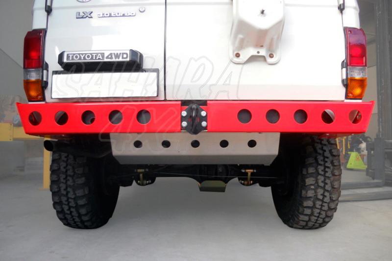 Paragolpes trasero Toyota LJ/KZJ 70 - Fabricado en aluminio