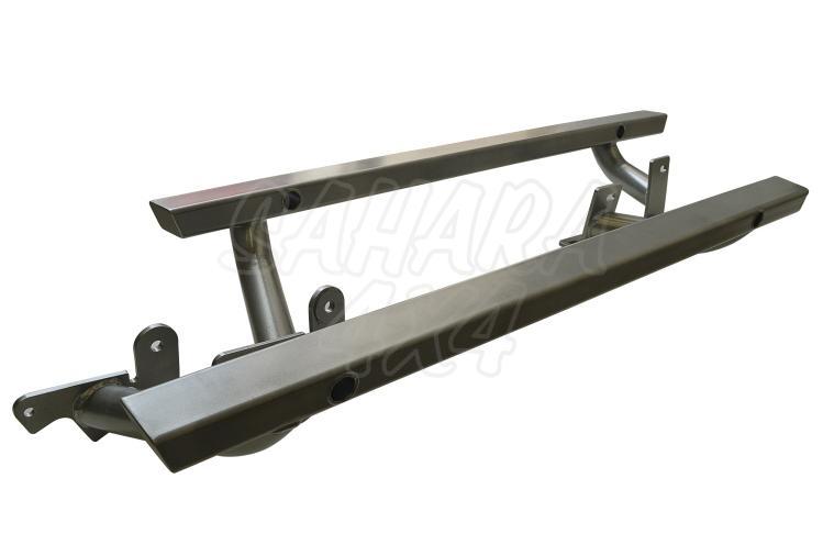 Rock Sliders 80 mm x 50mm Wrangler JK 3 Puertas - Pareja