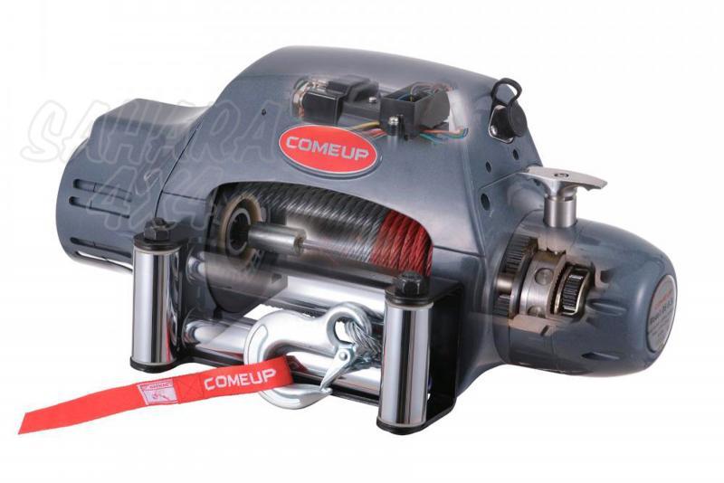 Cabrestante Come up DS-9.5i 12 v  - 4.309 kg. Caja de reles separada o incorporada.