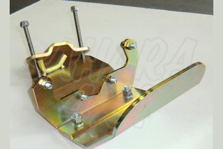 Protector diferencial traseroToyota LJ/KZJ 70 - Fabricado en acero