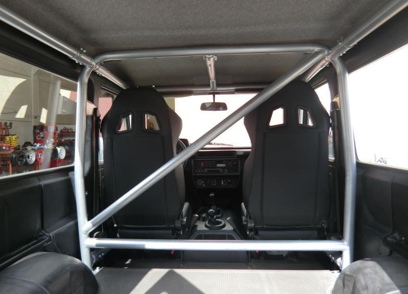 Arco Antivuelco Interior Mercedes G 3 Puertas  - Fabricado con normas FIA