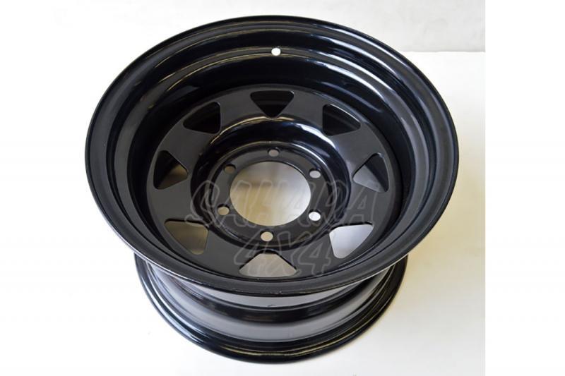 Llanta Acero Negro 10x15 ET-44 6x139.7 , Nissan