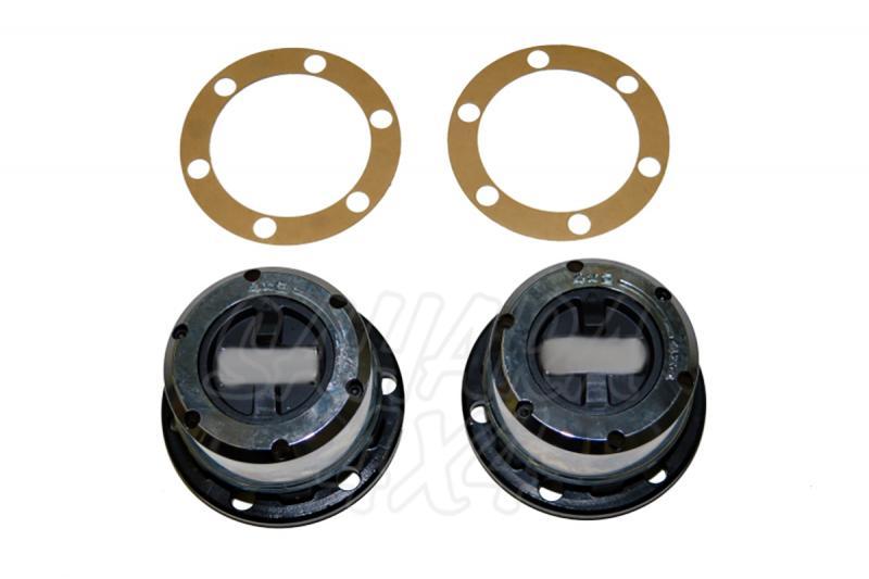 Liberadores de rueda manuales Nissan Navara 28 estrias - Pareja de libredores , calidad estandard