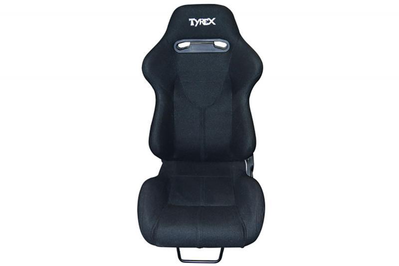 Asiento deportivo TYREX en tela negra