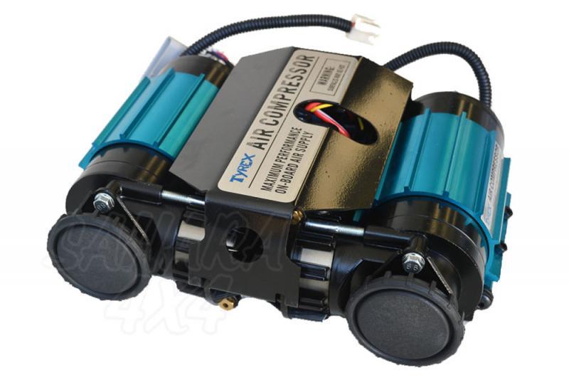 Compresor doble Tyrex para Bloqueo con salida de aire