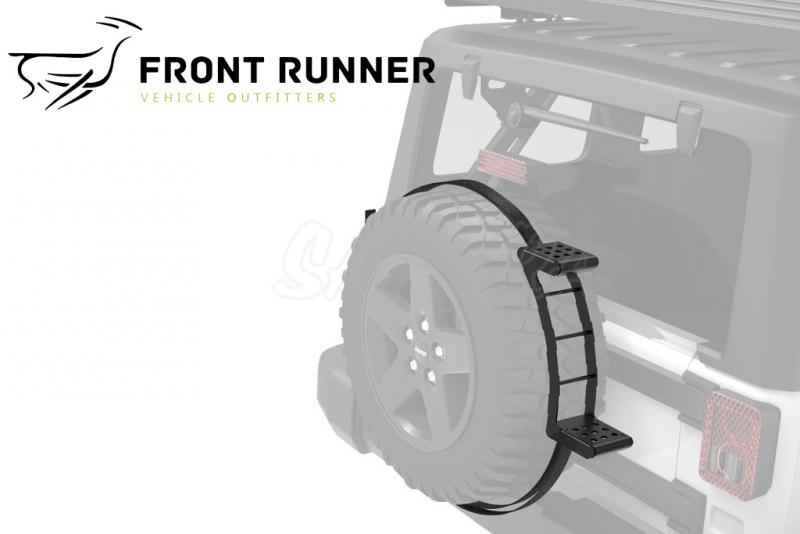 Peldaño rueda de recambio Front Runner
