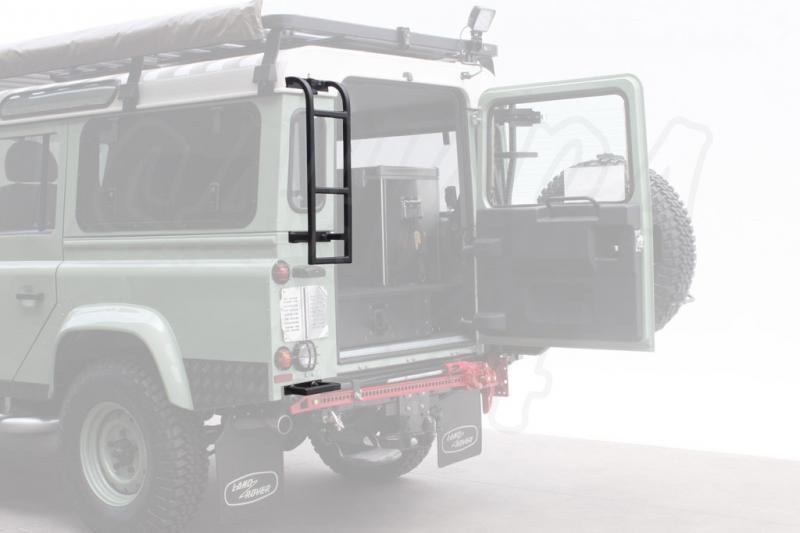 Escalera trasera de acceso al portaequipajes Land Rover Defender - Frontrunner - Válido Defender.