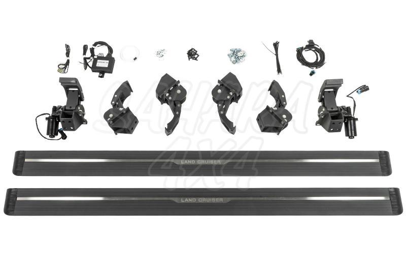 Estribos eléctricos STEPZ para Toyota Land Cruiser L200 15-19