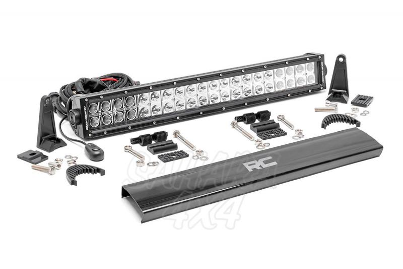 Barra de doble Led 50cm Led, Rough Country  - 120w, 9600 Lumens