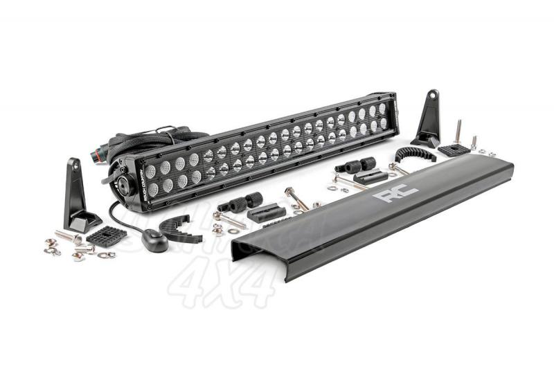 Barra de doble Led 50cm, Rough Country Black Series - 120w, 9600 Lumens