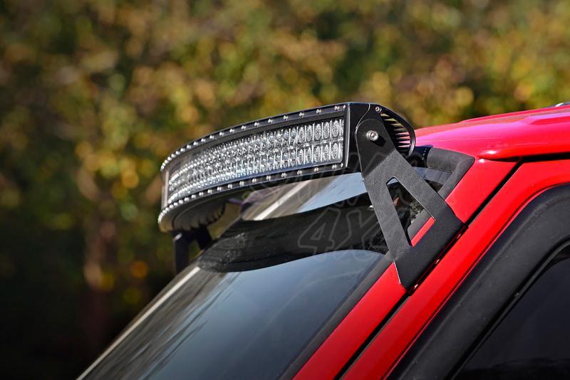 Soportes para barra de LED en techo Rough Country - Jeep Cherokee XJ - Para barra de 50