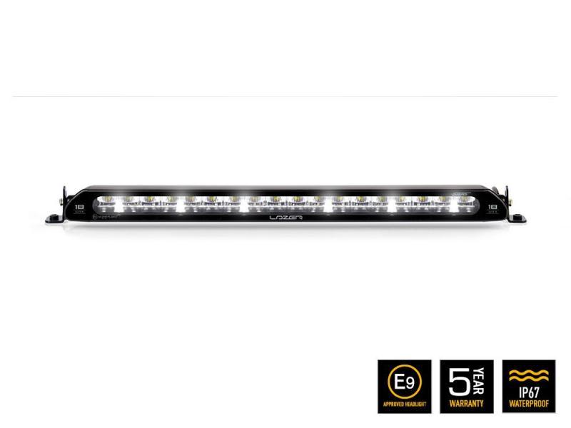 Faro LED Lazer  Linear-18 Elite con luz de posicion CE 45