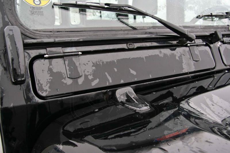 Kit de tornillos de acero inoxidable para Land Rover Defender Visagras ventilacion delanteras