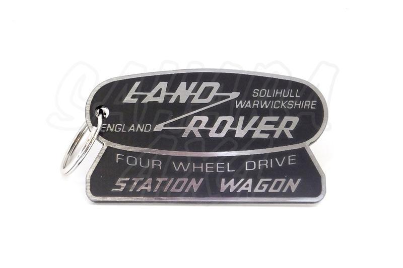 Llavero plastico Land Rover SW