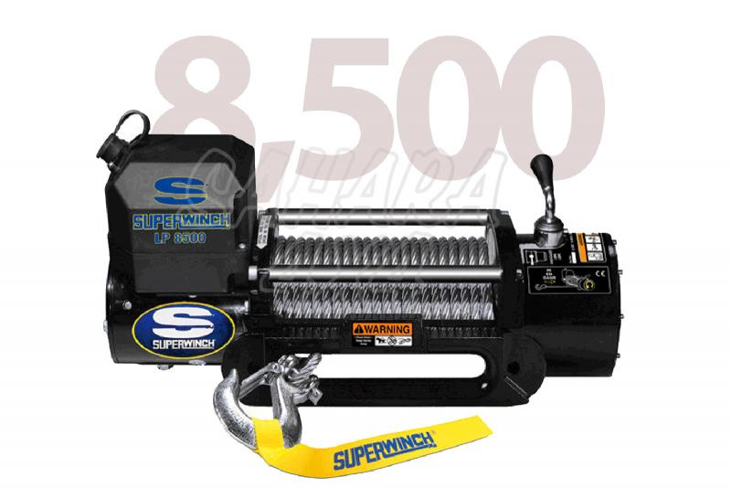 Superwinch LP8.500 3.856 Kg  - Cabrestante electrico a 12v.
