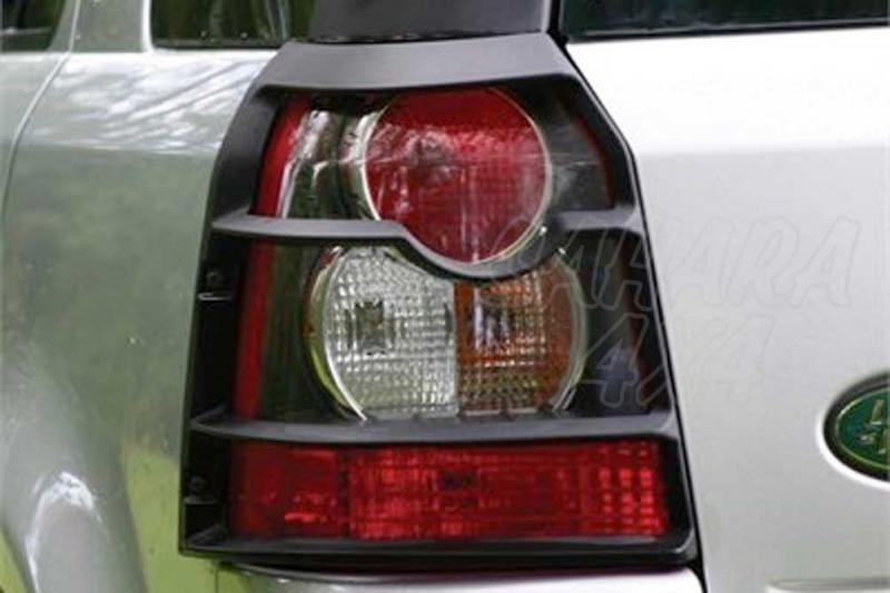 Protectores de faros traseros en plastico Land Rover Freelander II - Pareja
