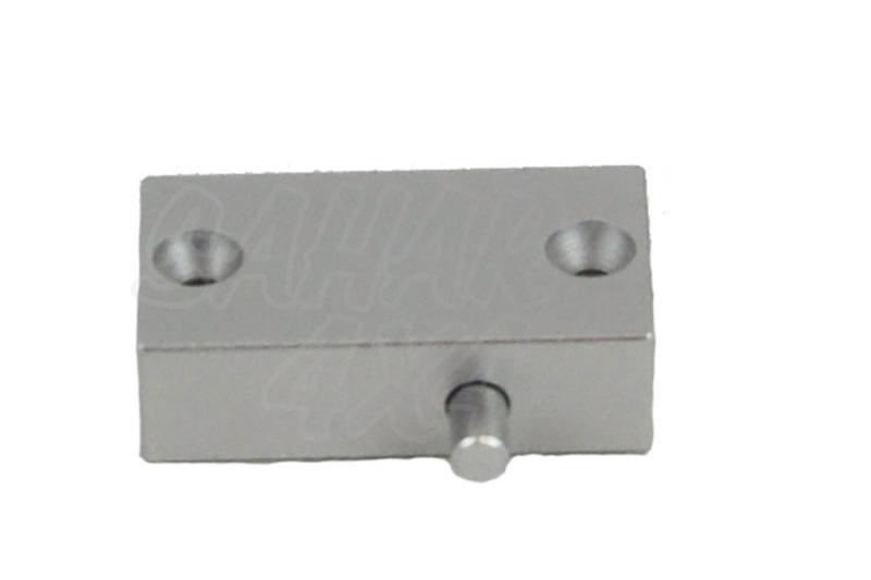 Interruptor pulsador Lumicoin - Fijacion con tornillos