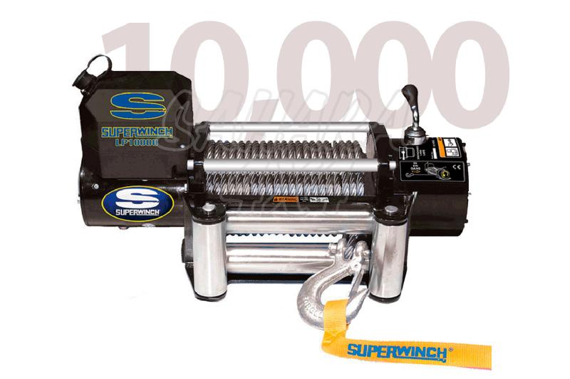 Superwinch LP10.000 4.536 Kg  - Cabrestante electrico a 12v.