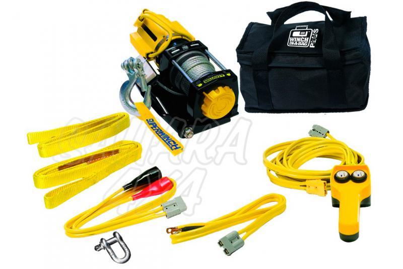 Superwinch LT2000  907Kg Con Bolsa - Cabrestante electrico a 12v.