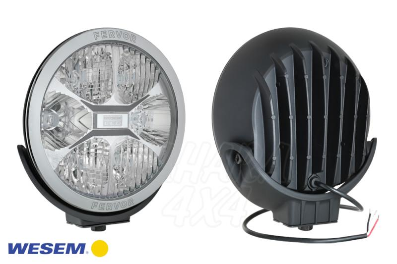 Faro largo alcance Wesem LED CE 22CM - 12/24V 2400LM 25CD