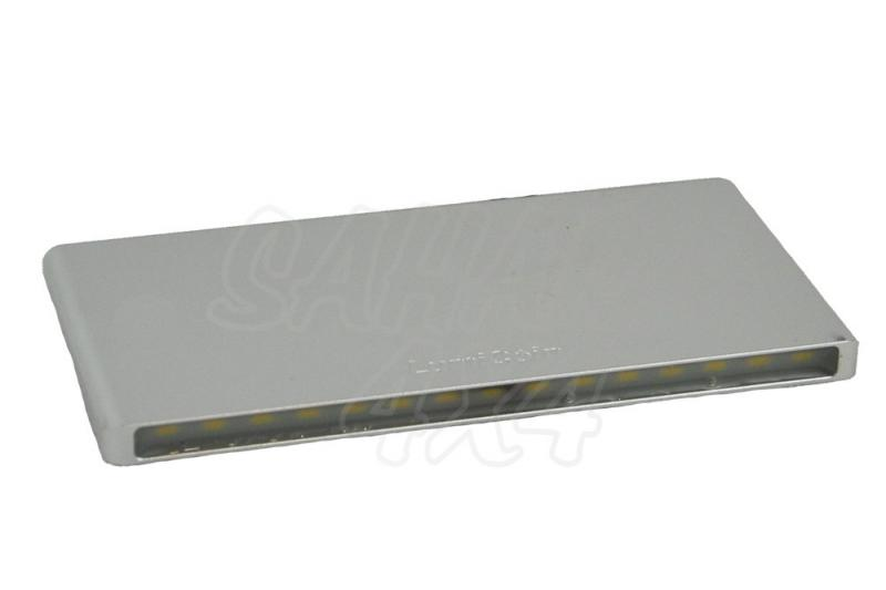 Barra de Led de pared , 4000 K , 8-30v , 5 W 420 Lm CRI80 A+ , 100 x 50 x 6 mm, adhesivo