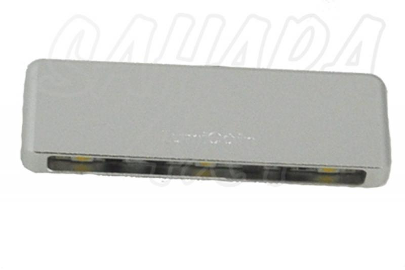 Barra de Led  pared , micro  4000K, 8-30v 1.2w CRI90 A++ , 60 x 20 x 6mm , adhesivo