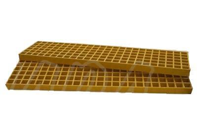 Plancha Xtreme Trac Mat 1220 mm x 310 mm 50 mm grosor Especial Competicion Amarilla - Plancha de Arena, barro o puente,